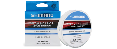 Леска Shimano Aspire Silk Shock 150м 0,165мм 3кг   NEW (ASSS15016)