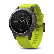 Мультиспортивные часы Garmin Fenix 5 с GPS, с желтым ремешком (010-01688-02)