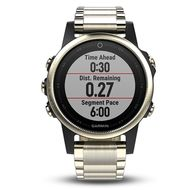 Мультиспортивные часы Garmin Fenix 5S Sapphire с GPS, шампань с металл. браслетом (010-01685-15)