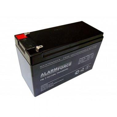 Аккумулятор свинцово-кислотный 12V 7А alarm force-2