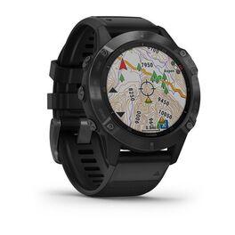 Мультиспортивные часы Garmin Fenix 6 PRO с GPS, черные с черным ремешком (010-02158-02) #2