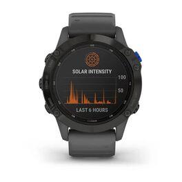 Мультиспортивные часы Garmin Fenix 6 Pro Solar с GPS, черный с серым ремешком (010-02410-11) #7