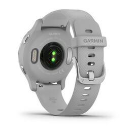 Смарт-часы Garmin Venu 2S, Wi-Fi, GPS, серебристые с силиконовым ремешком (010-02429-12) #4