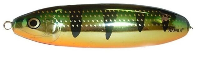 Блесна Rapala Minnow Spoon незацепляйка  10см,  32гр. (RMS10-FLP)
