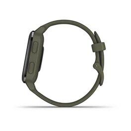 Смарт-часы Garmin Venu Sq NFC Music с серым безелем и темно-зеленым ремешком (010-02426-13) #6