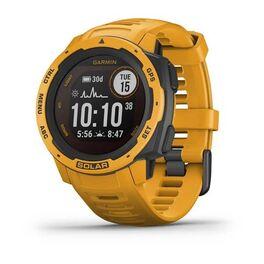 Защищенные gps-часы garmin instinct solar, цвет sunburst. Артикул: 010-02293-09