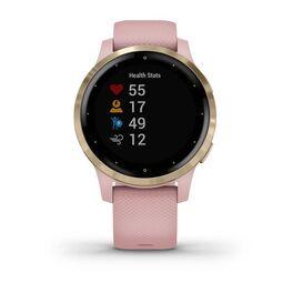 Смарт часы Garmin Vivoactive 4S розовые с золотистым безелем (010-02172-33) #1