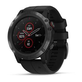 Спортивные часы garmin fenix 5x plus sapphire черные с черным ремешком. Артикул: 010-01989-01