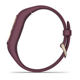 Фитнес-браслет Garmin VivoSMART 4, бордовые с золотом, 122-188мм (010-01995-21) #5