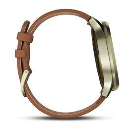 Часы с трекером активности Garmin VivoMove HR Premium, золото, пульсометр, р-р S/M (010-01850-25) #2