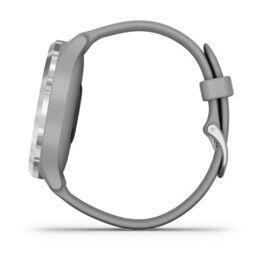 Часы с трекером активности Garmin VivoMove 3, серебр. с серым силиконовым ремешком (010-02239-20) #7