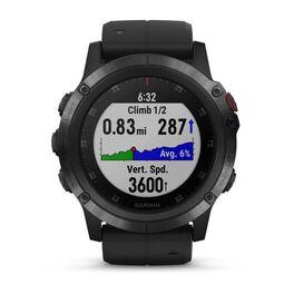 Мультиспортивные часы Garmin Fenix 5x PLUS Sapphire RUSSIA черные с черным ремешком (010-01989-11) #6