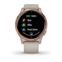 Смарт-часы Garmin Venu, Wi-Fi, Sand/Rose Gold с GPS (010-02173-23) #2