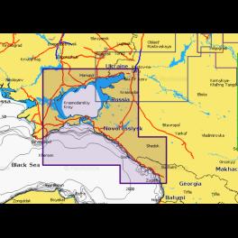 Карта navionics 5g632s2 Азовское море (5g632s2). Артикул: 5G632S2