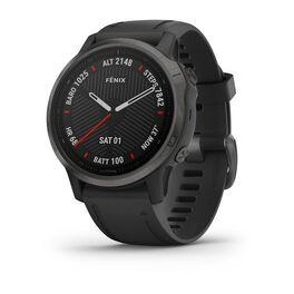 garmin fenix 6s sapphire часы с gps, серые с черным ремешком. Артикул: 010-02159-25