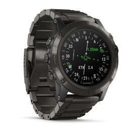 Навигатор-часы для пилотов Garmin D2 delta PX с титановым ремешком (010-01989-31) #2