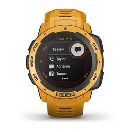 Защищенные GPS-часы Garmin Instinct Solar, цвет Sunburst (010-02293-09) #6