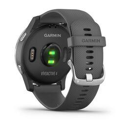 Смарт часы Garmin Vivoactive 4 серые с серебристым безелем (010-02174-03) #6