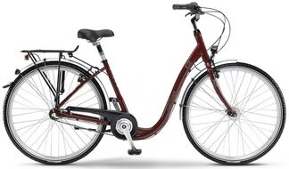 "Велосипед WINORA Weekday Ultratief 26""3s Nexus 15/16 bordeaux red size 42 (4061163542)"