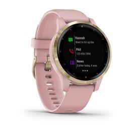 Смарт часы Garmin Vivoactive 4S розовые с золотистым безелем (010-02172-33) #2