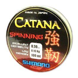 Леска shimano catana spinning 100м 0,165мм 2,9кг (catspg10016). Артикул: CATSPG10016