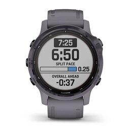 Мультиспортивные часы Garmin Fenix 6S Pro Solar GPS, аметистовый с темно-серым ремешк (010-02409-15) #2