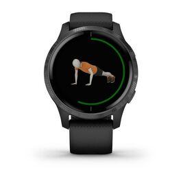 Смарт-часы Garmin Venu, Wi-Fi, Black/Slate с GPS (010-02173-13) #3