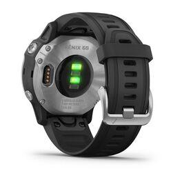 Мультиспортивные часы Garmin Fenix 6S с GPS, серебристые с черным ремешком (010-02159-01) #8