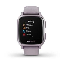 Смарт-часы Garmin Venu Sq NFC цвет безеля и ремешка - орхидея (010-02427-12) #2