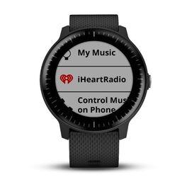 Смарт-часы Garmin Vivoactive 3 MUSIC, с функцией GARMIN PAY, черные (010-01985-03) #1