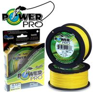 Леска плетеная Power Pro 135м Hi-Vis Yellow 0,06 (PP135HVY006)