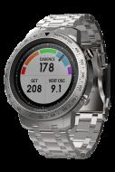Мультиспортивные часы Garmin Fenix Chronos металлическим браслетом (010-01957-02)