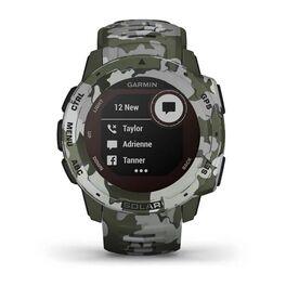 Защищенные GPS-часы Garmin Instinct Solar, цвет Lichen Camo (010-02293-06) #7