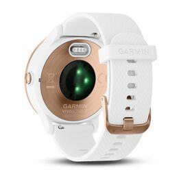 Смарт часы Garmin Vivoactive 3 розовое золото, бел.силик.ремешок ( 010-01769-07) #3