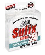 Леска Sufix Super 21 Clear 150м 0.14мм (DS1MM014024B2R)