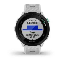 Спортивные часы Garmin Forerunner 55 GPS, Whitestone (010-02562-11) #7