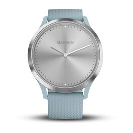 Часы с трекером активности Garmin VivoMove HR Sport, серебр., силик.ремеш. 107-177мм (010-01850-08) #1