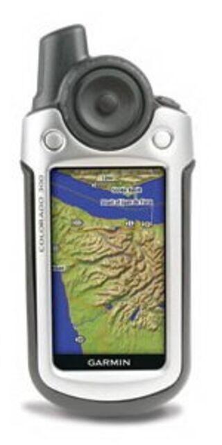 Garmin Colorado: совершенная gps-навигация
