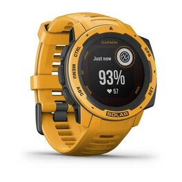 Защищенные GPS-часы Garmin Instinct Solar, цвет Sunburst (010-02293-09) #1