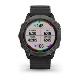 Мультиспортивные часы Garmin Fenix 6X PRO Solar с GPS, титановый с черным ремешком (010-02157-21) #6
