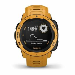 Защищенные GPS-часы Garmin Instinct, цвет Sunburst (010-02064-03) #4