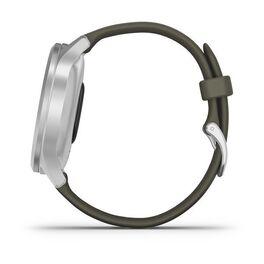 Часы с трекером активности Garmin VivoMove Style серебристый с травяным ремешком (010-02240-21) #7