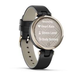 Фэшн смарт-часы Garmin Lily CreamGold Black Leather (010-02384-B1) #2