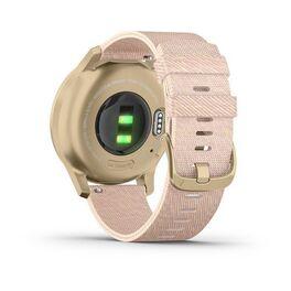 Часы с трекером активности Garmin VivoMove Style золотистый с роз. плетеным ремешком (010-02240-22) #5