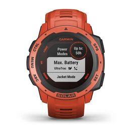 Защищенные GPS-часы Garmin Instinct Solar, цвет Flame Red (010-02293-20) #4