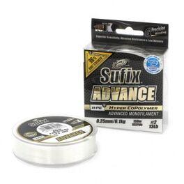 Леска sufix advance 150 м 0,23мм/5кг (sav23c150). Артикул: SAV23C150