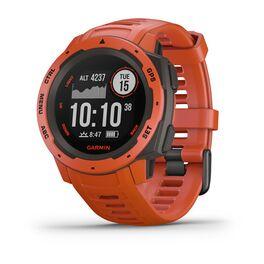 Защищенные gps-часы garmin instinct flame red. Артикул: 010-02064-02