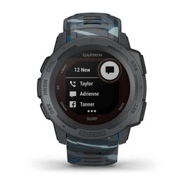 Защищенные GPS-часы Garmin Instinct Surf, Solar, цвет Pipeline (010-02293-07) #6