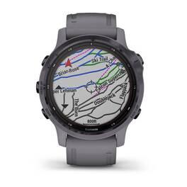Мультиспортивные часы Garmin Fenix 6S Pro Solar GPS, аметистовый с темно-серым ремешк (010-02409-15) #4