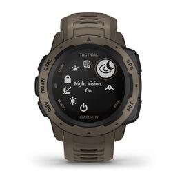 Защищенные GPS-часы Garmin Instinct Tactical, цвет Coyote Tan (010-02064-71) #1